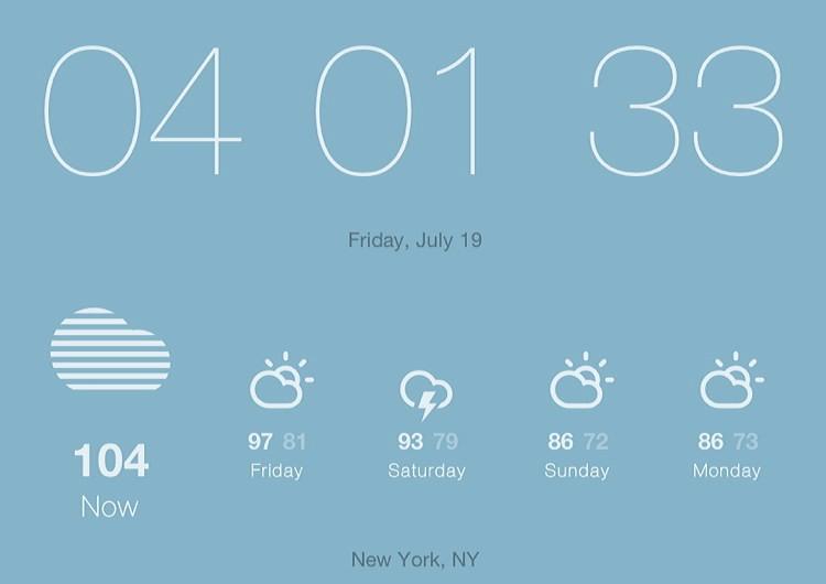 104 fahrenheit, 40 Celsius, New York