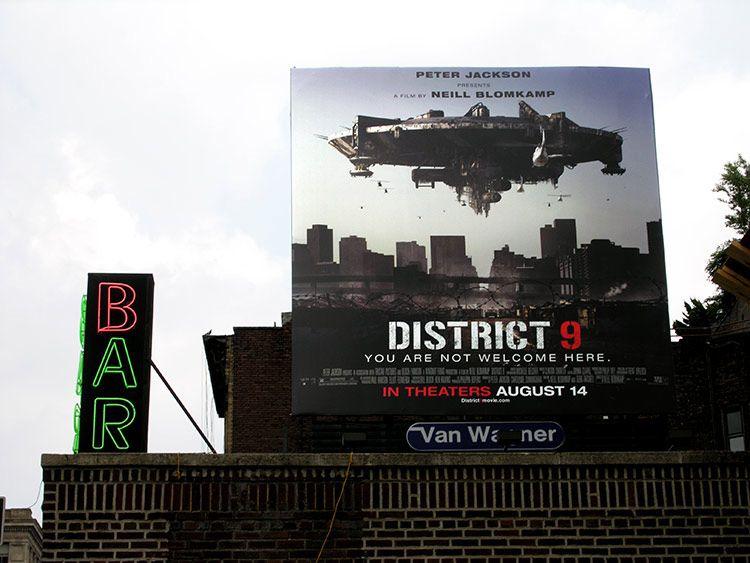 Bar, district, New York
