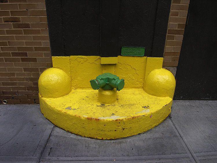 little green, big yellow, New York