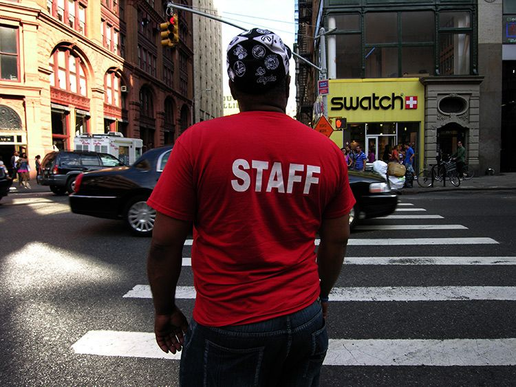 watch, the staff, New York