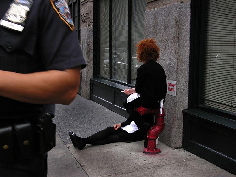guarded, break, New York