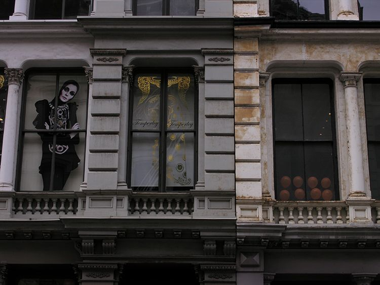 window, dressing, New York
