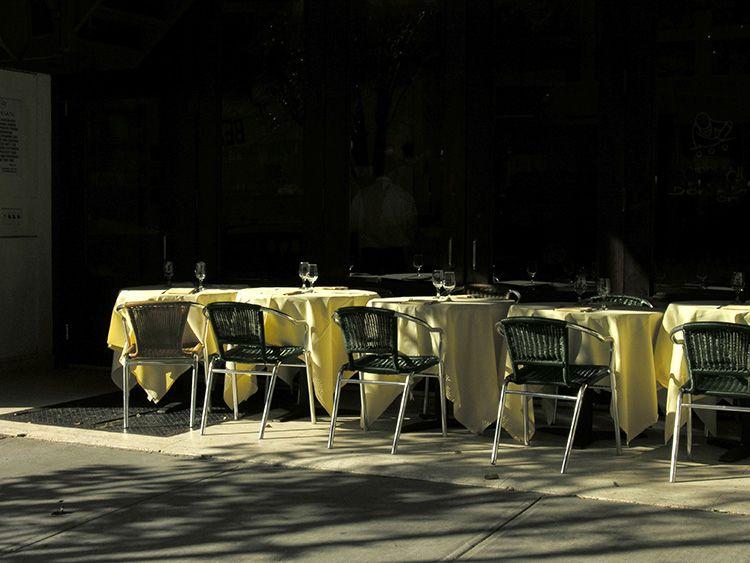 sun, table, New York
