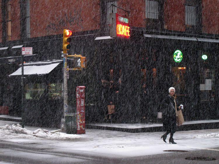 bad, weather, New York