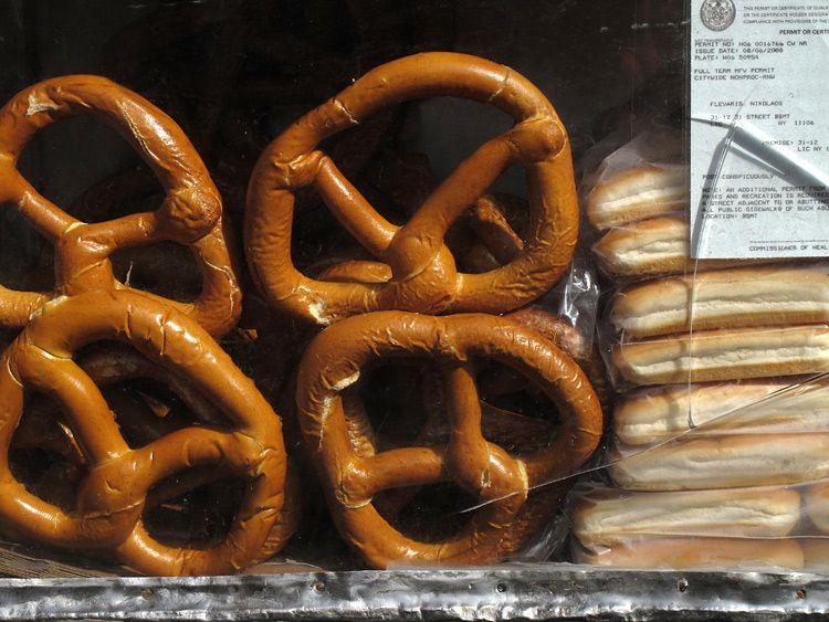 pretzel, permit, New York