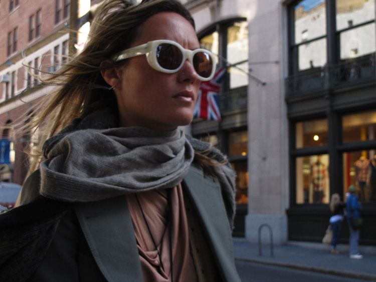 day, goggles, New York