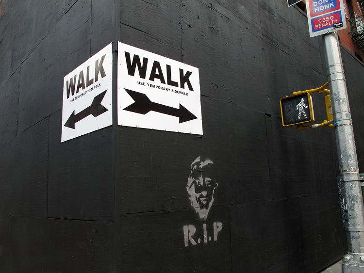 rip, walk, New York