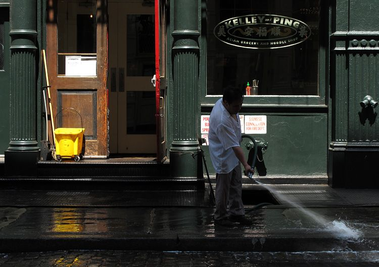 morning, splash, New York