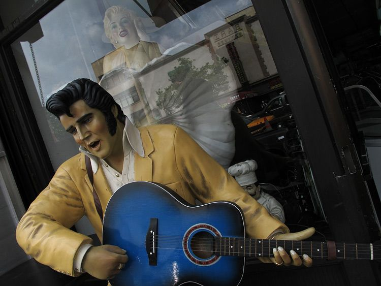 happy, Elvis, New York