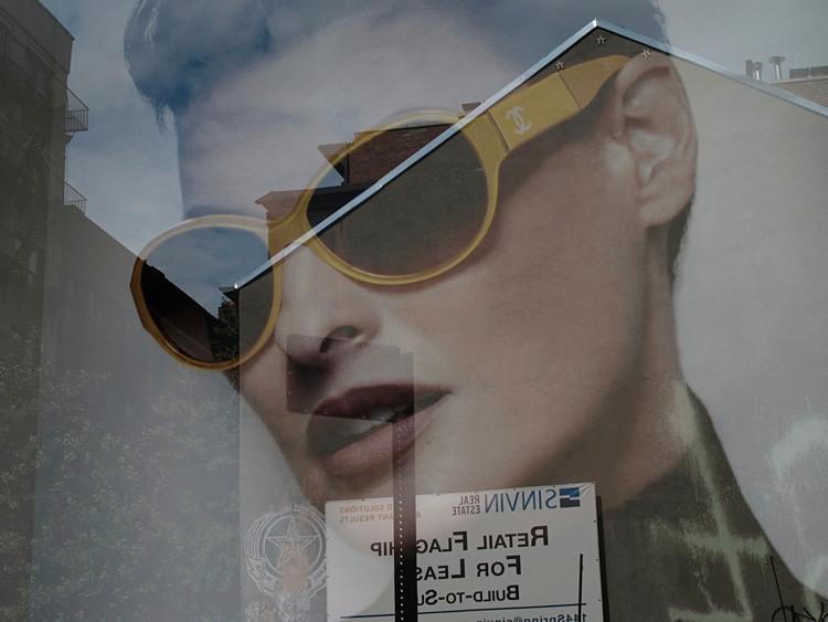 glass, head, New York