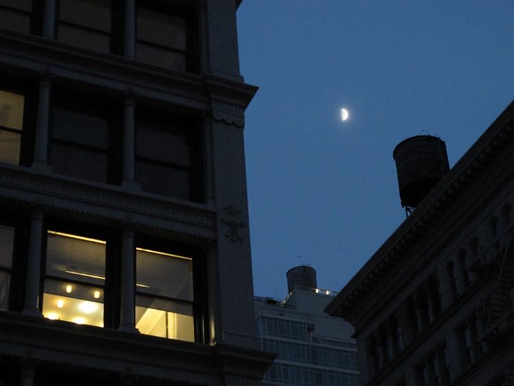 ceiling, lights, New York