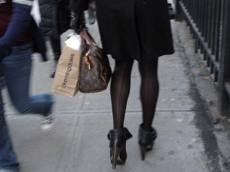 brown, bags, New York