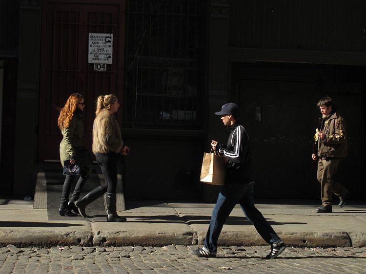 light, streak, New York