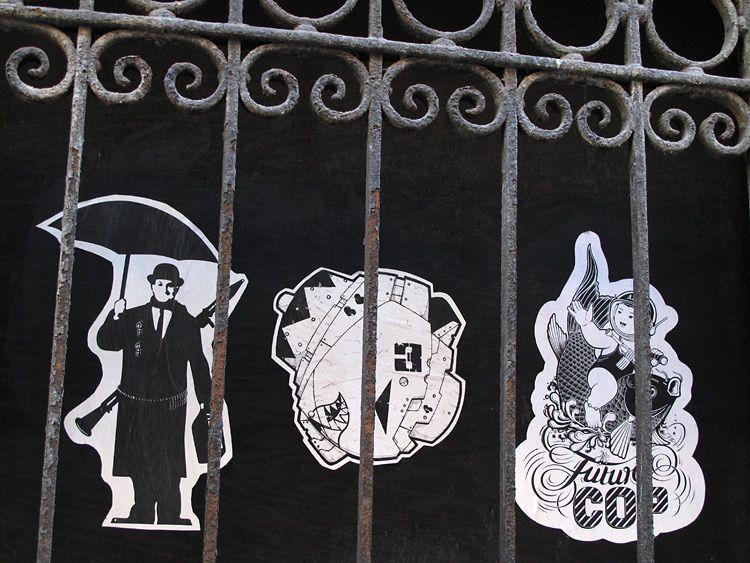 behind, bars, New York