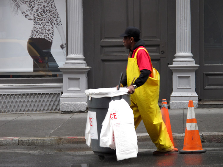 cleaning, binge, New York