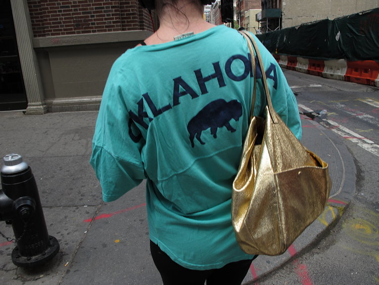 Oklahoma, gold, New York