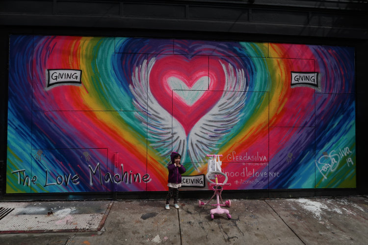 peace, heart, New York