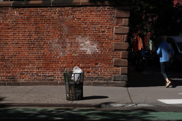 corner, around, New York