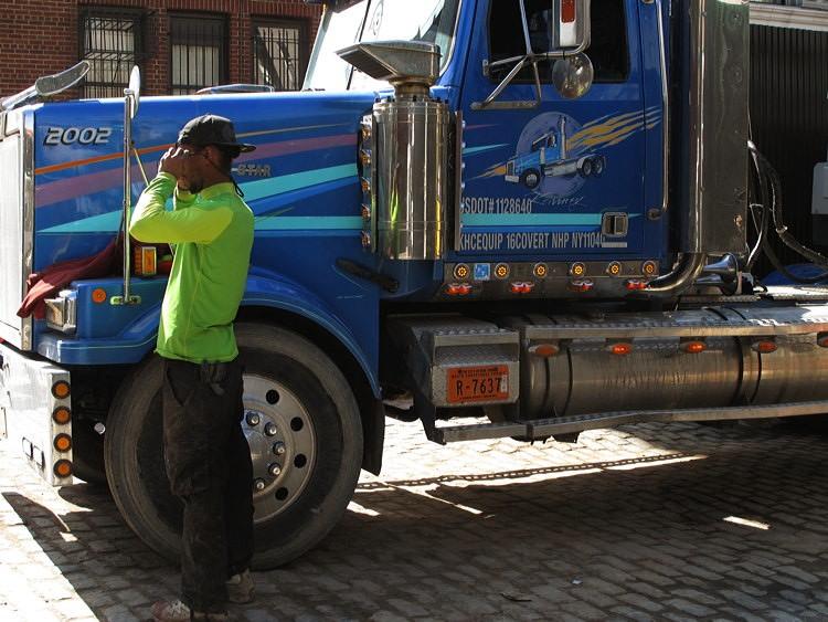 car, driver, New York