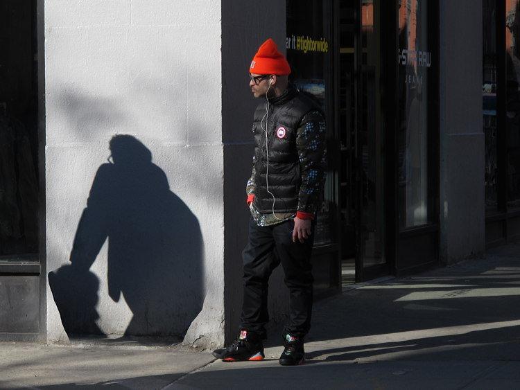 drop, shadow, New York