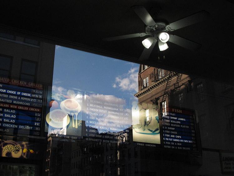 inside, outside, New York