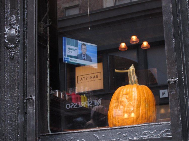 pumpkin, money, New York