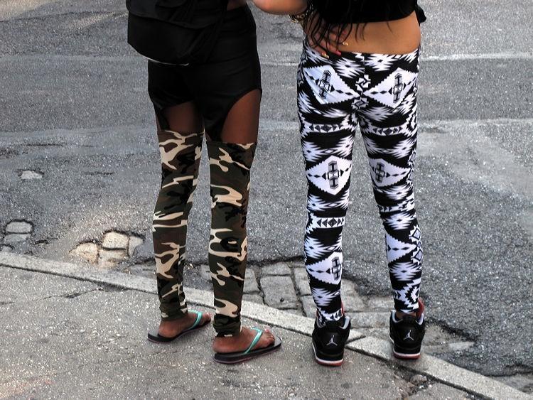 leg, bumps, New York