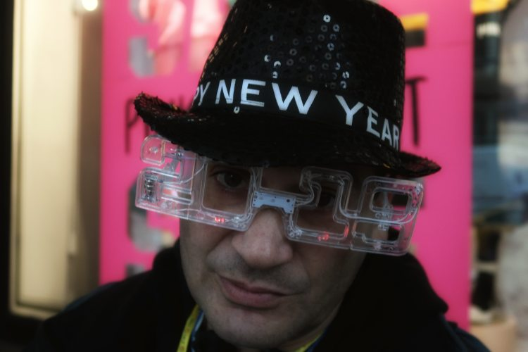 New York happy ? new year