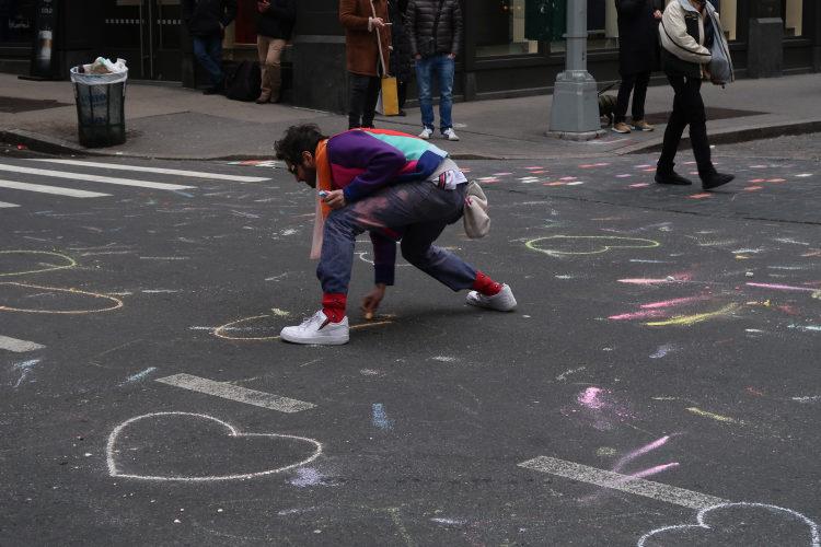 New York love hearts