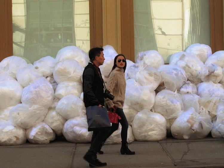 New York snow bags