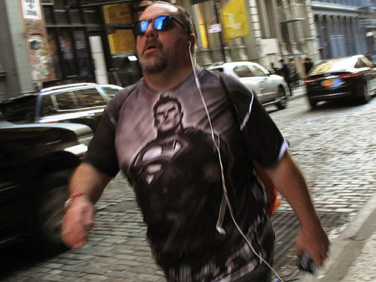 New York super human