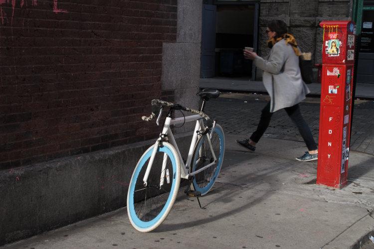 New York wheels steps