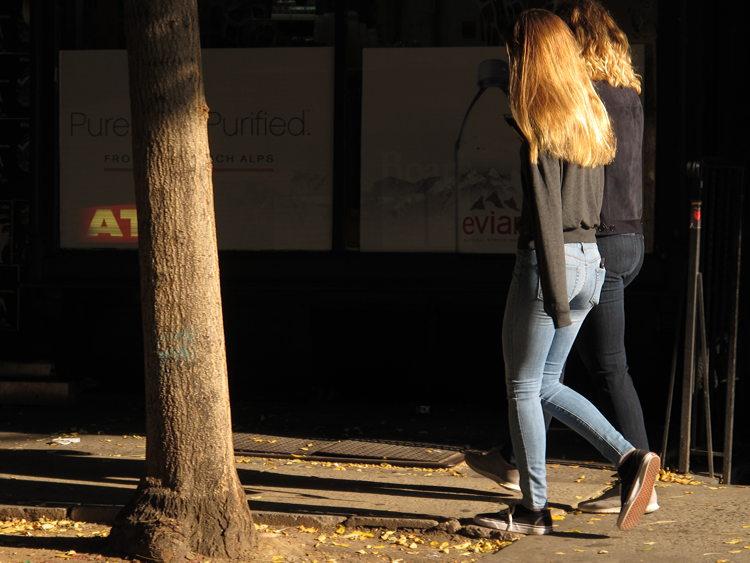 New York golden hair