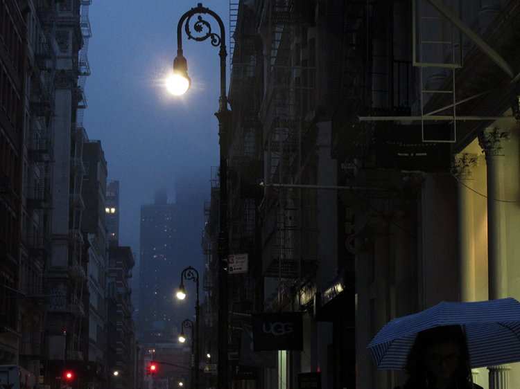 New York 80% rain
