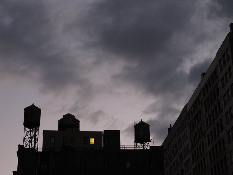 New York rainy day