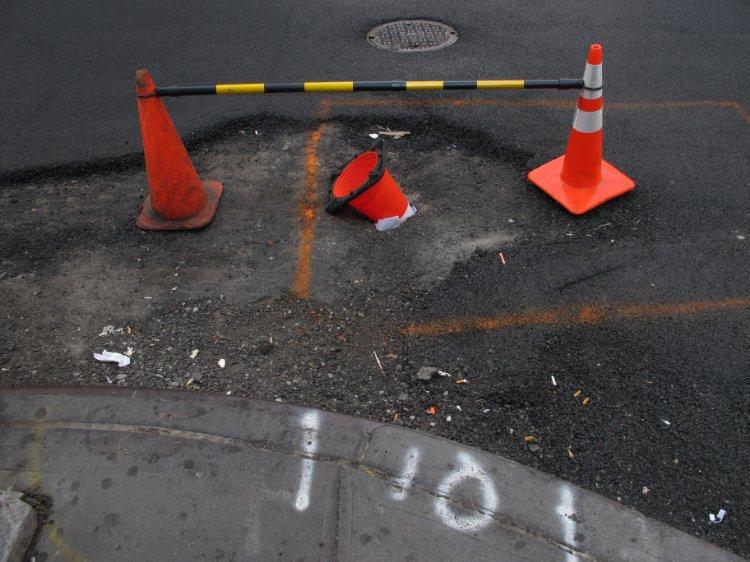 New York street error