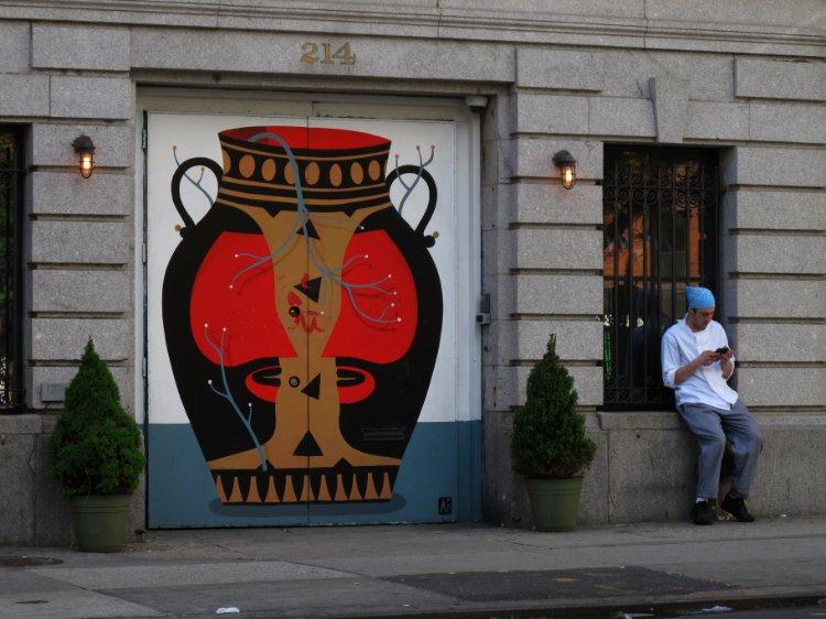 New York soup pot