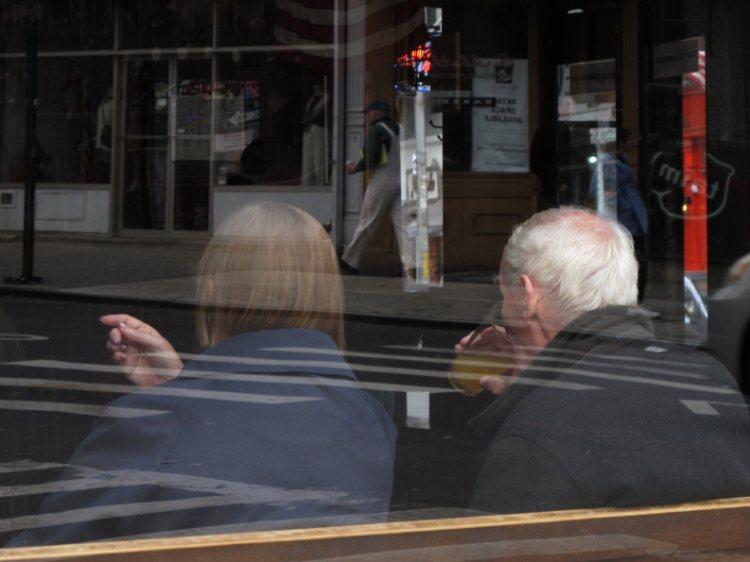 New York old fashioned socializing