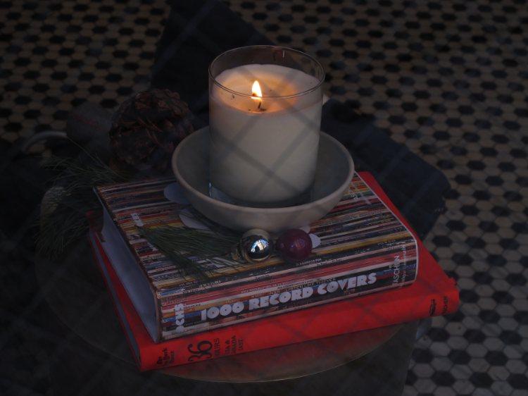 New York candle light