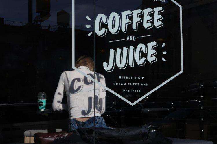 New York juiced coffee