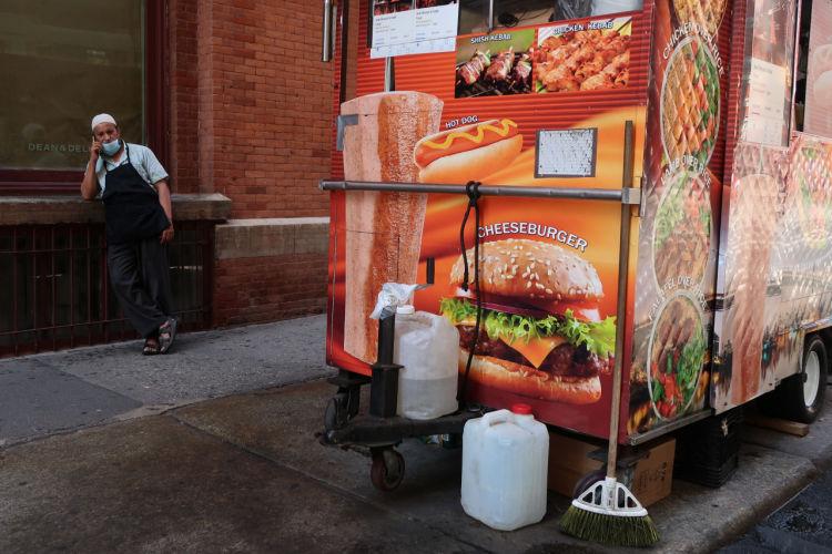 New York hot dog