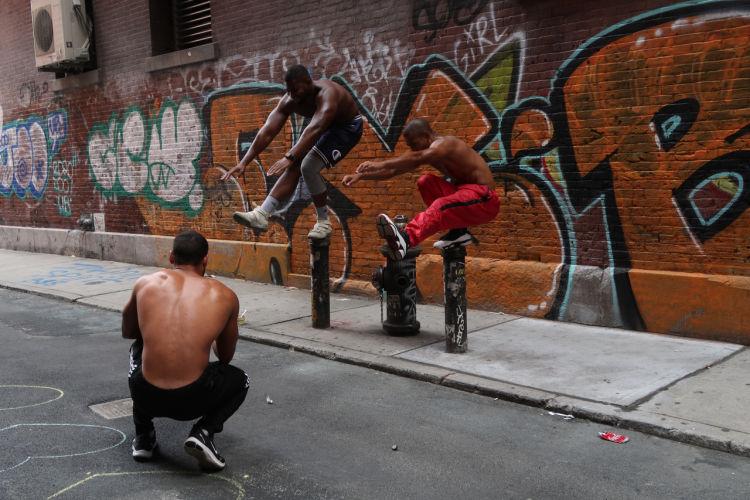 New York balance jump