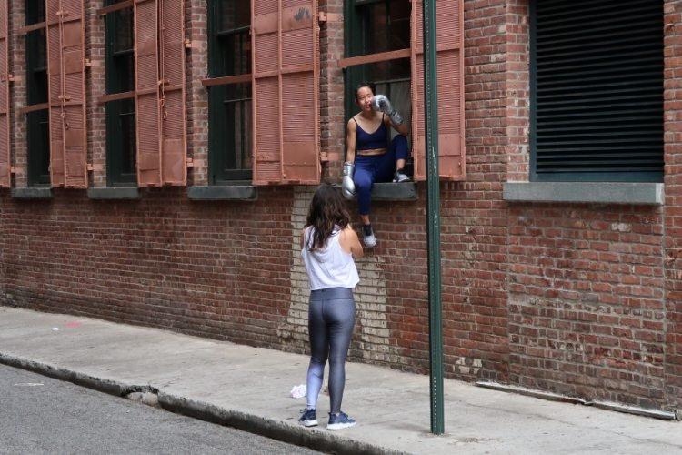 New York backside shooting